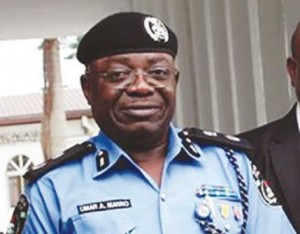 Commissioner of Police, Lagos State, Mr. Umaru Manko